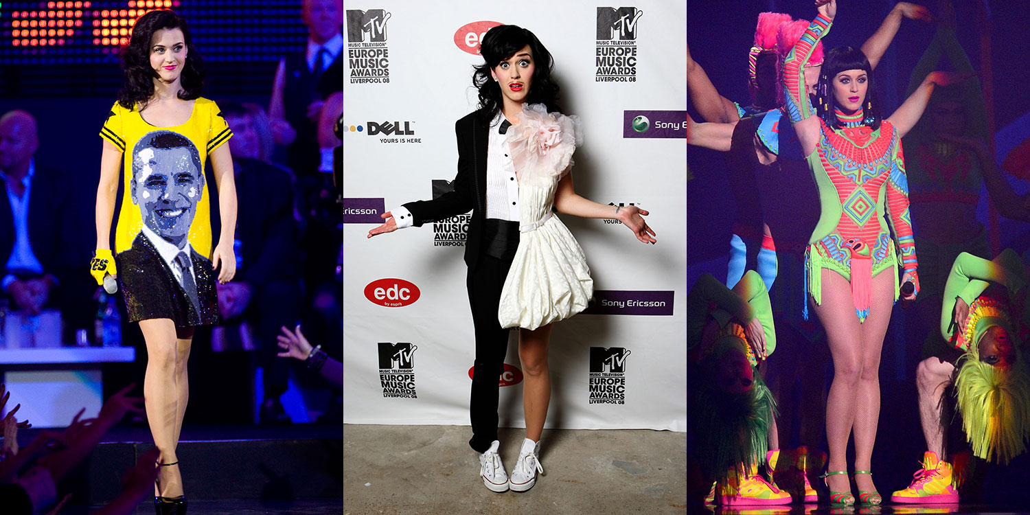 Katy Perry 39 S Craziest Most Fun Outfits Celebrity Fashion
