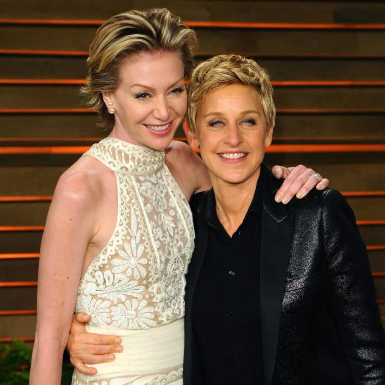 Portia De Rossi Model: Ellen DeGeneres And Portia De Rossi Celebrate Their Sixth