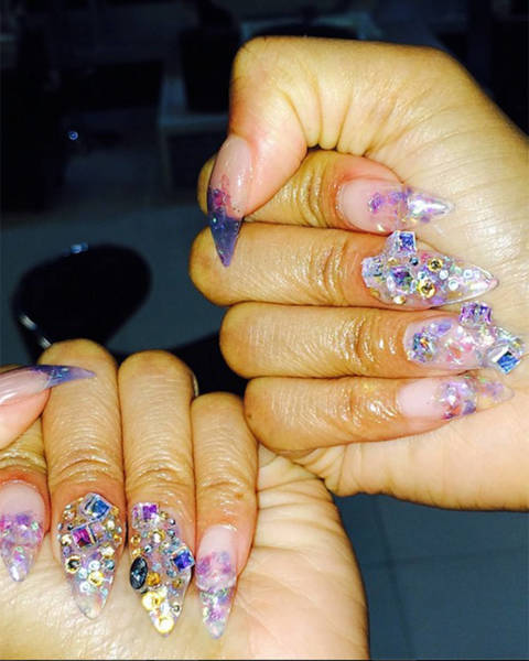 Celebrity Nail Artist: Celebrity Nail Art Pictures