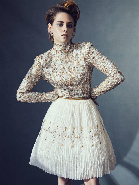 Kristen Stewart looks amazing on the cover of French Vanity Fair