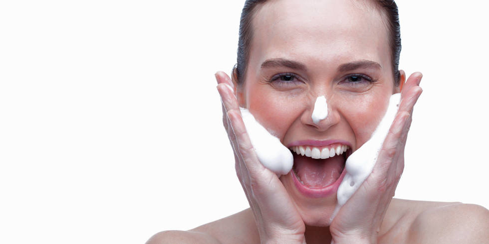 5 essential skincare tips from one of the UK's top facialists, Abigail James - nrm_1409141719-woman-cleansing-face-top-tips