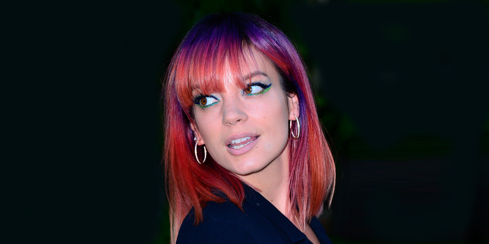 lily allen i would change my look to please my man