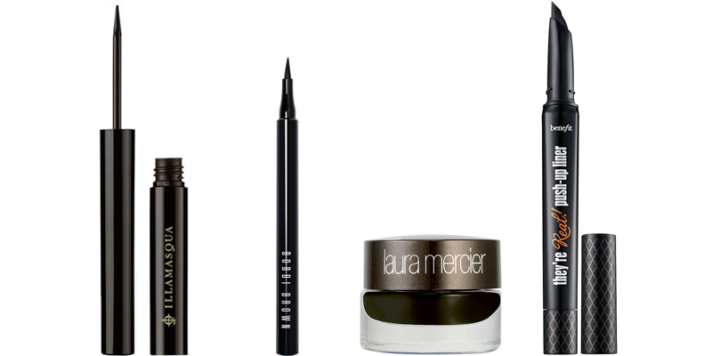 The Best Eyeliner. Urban Decay's 24/7 Glide-On Eye Pencil-Best Pencil Eyeliner. Lancome Grandiose Bendable Liquid Eyeliner-Best Liquid Eyeliner.