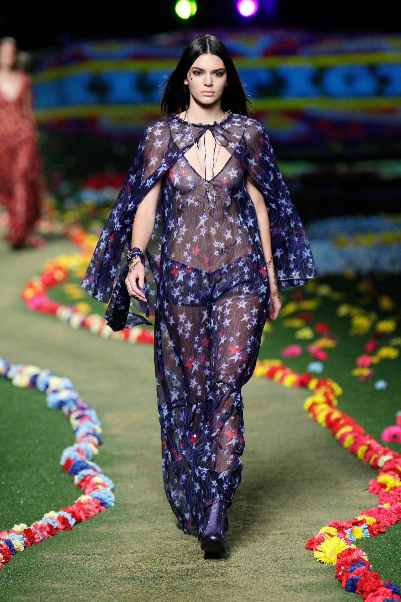 Runway Dress Tommy Hilfiger Nrm Kendall Jenner Tommy Hilfiger Nyfw