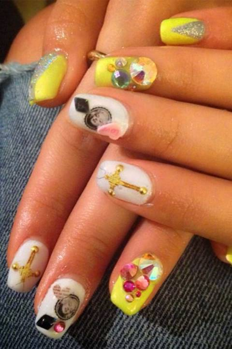 Nail Art Gallery (nailartgallery) on Pinterest