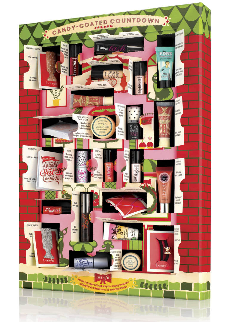 Benefit advent calendar 2014 'candy-coated countdown'