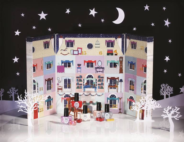 Ciaté's Mini Mani Manor - best beauty advent calendars for 2014