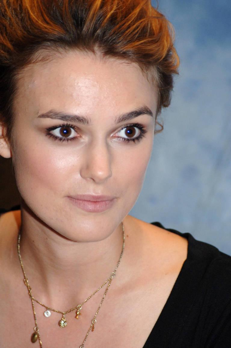 Celebrities Acn... Keira Knightley No Makeup