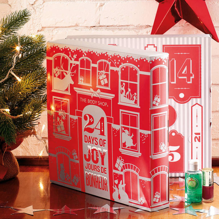 The Body Shop beauty advent calendar 2014