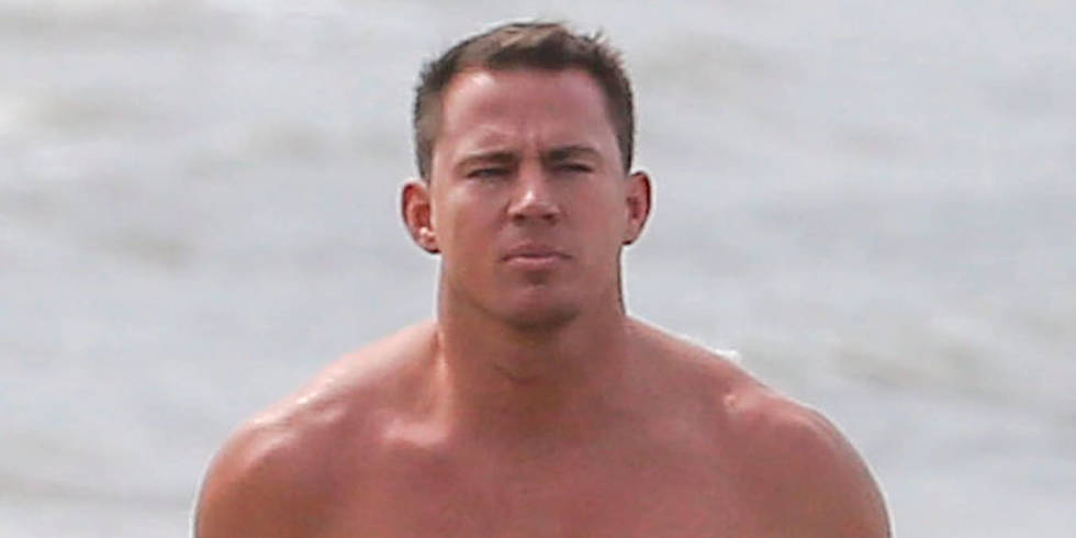 PICTURED: Shirtless Channing Tatum shows off his Magic ... Channing Tatum