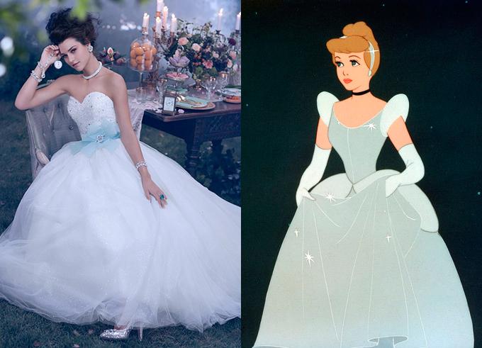 Disney style wedding