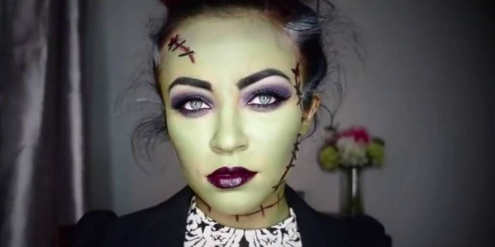 Horror Face Makeup Tutorial - Mugeek Vidalondon