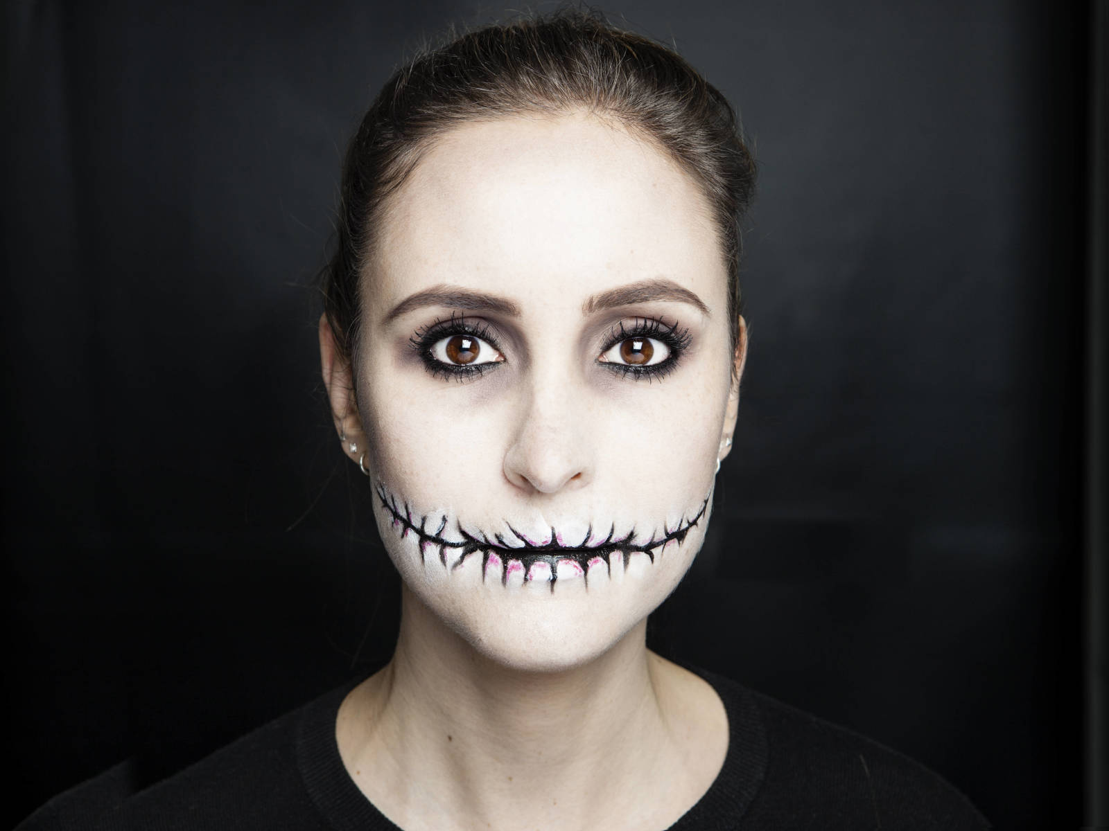 halloween makeup mouth -#main