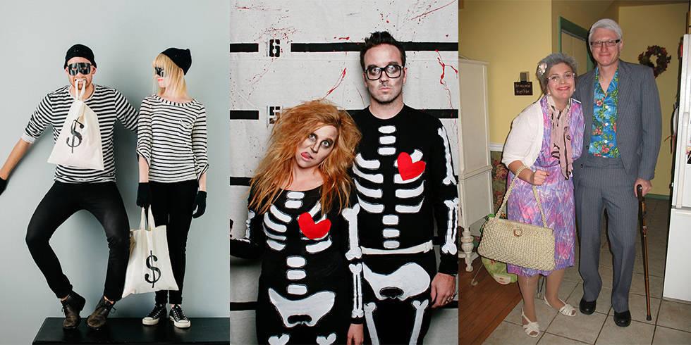 Couples Halloween Costumes Makeup Couples Halloween Costume