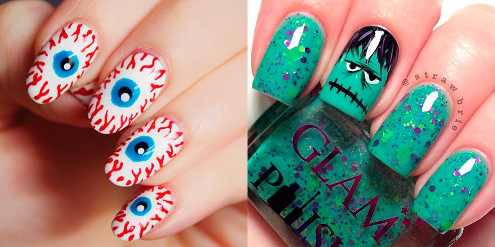 20 terrifyingly brilliant Halloween nail art ideas
