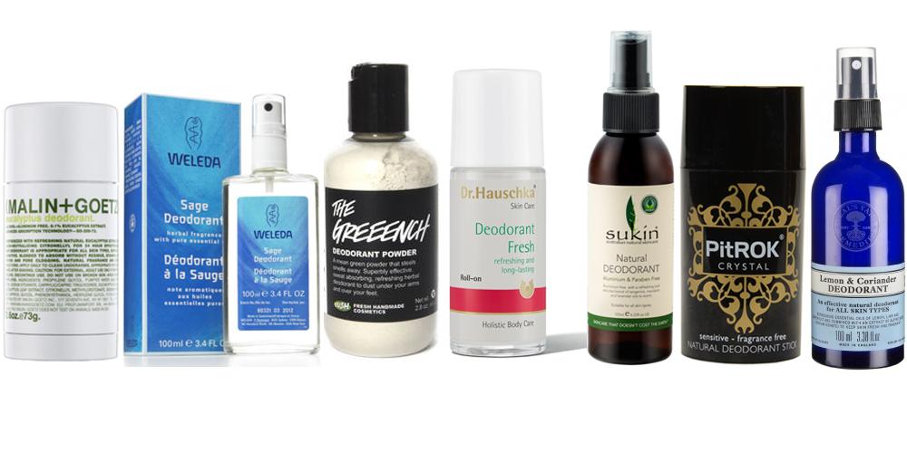 Natural Body Deodorant Antiperspirant