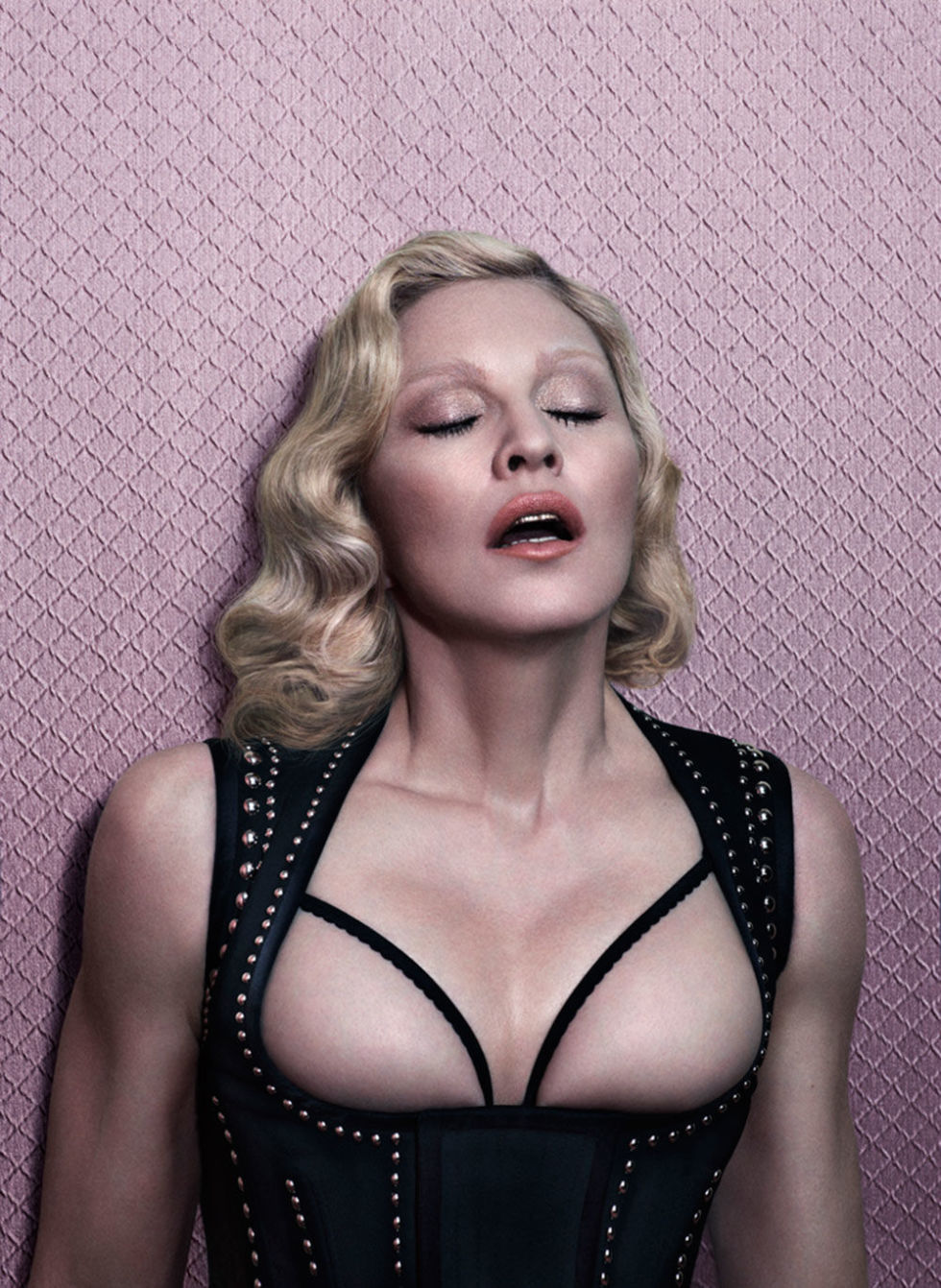 Topless magazine madonna interview
