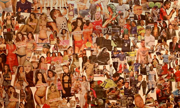 Heres a collage of all the images of women featured in