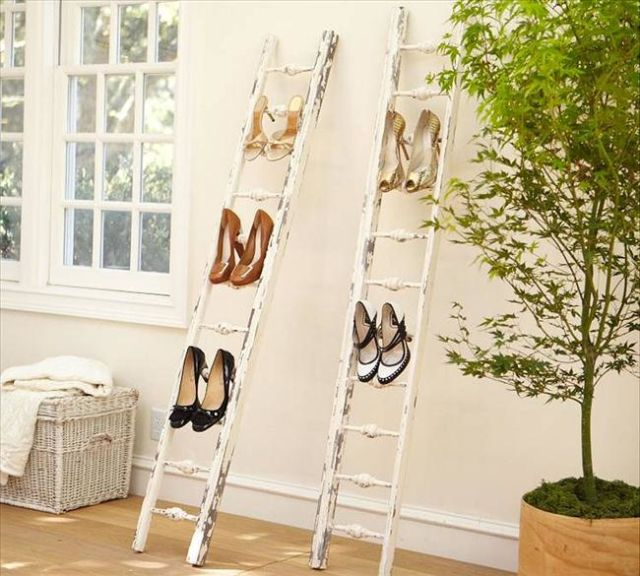 10 Genius Storage Ideas For Small Spaces: 9 Genius Shoe Storage Ideas For SMALL Spaces