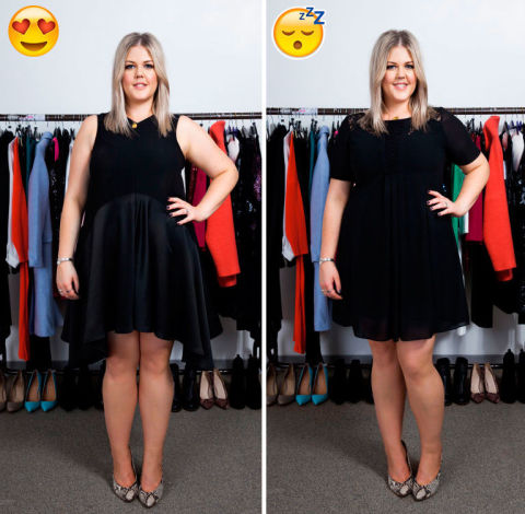 Party dressing for curvy girls: what to wear to flatter a ...