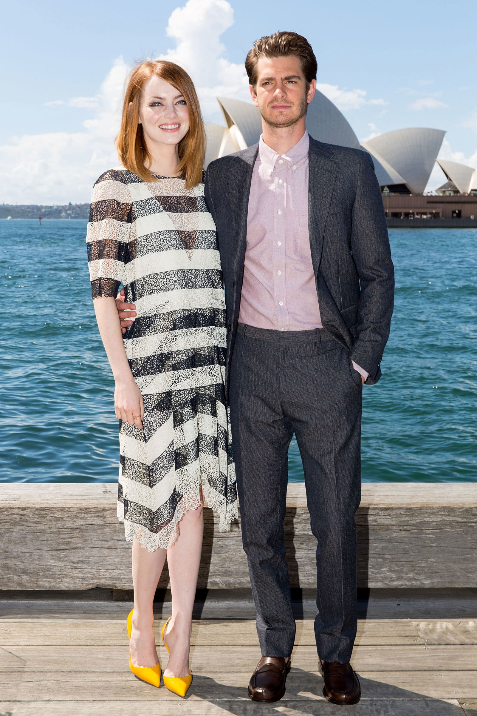 Emma Stone and Andrew Garfield are 'taking a break' after ... Emma Stone Dating