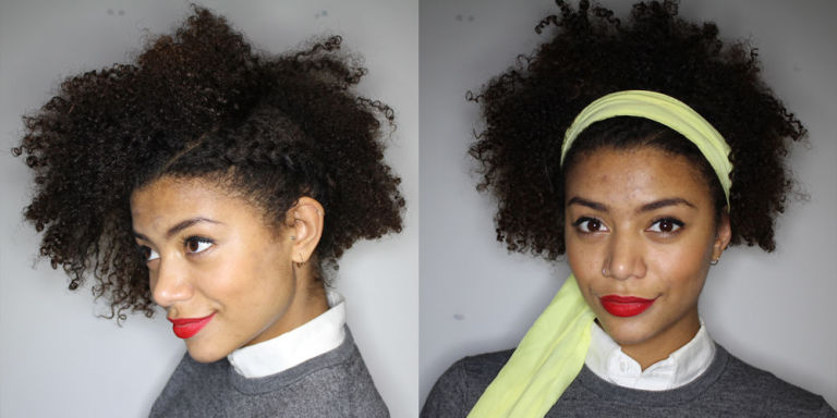 Growing Out Afro Undercut