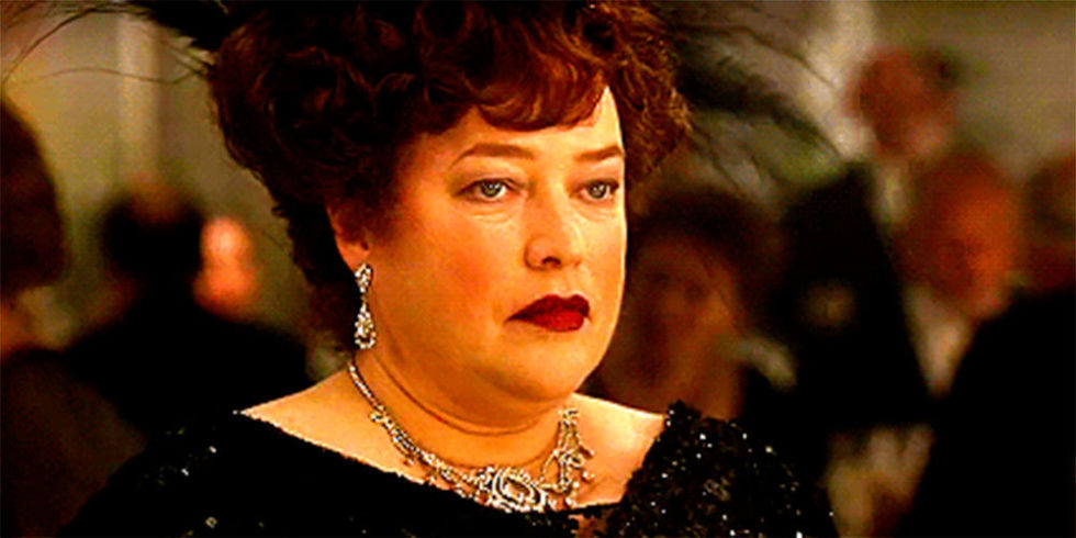 kathy bates titanic deleted scene contains perhaps the