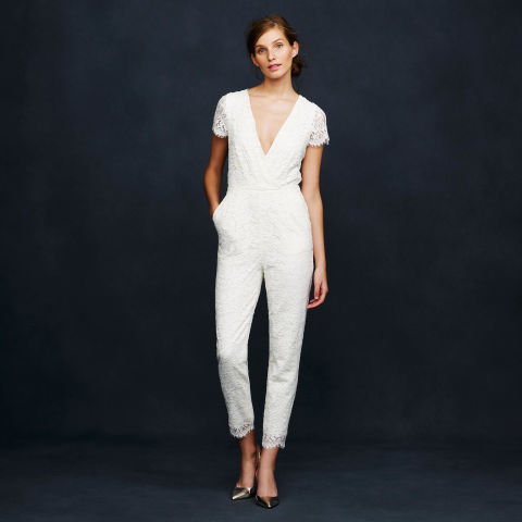 fashion style wedding inspiration photos bridal jumpsuits alternative brides