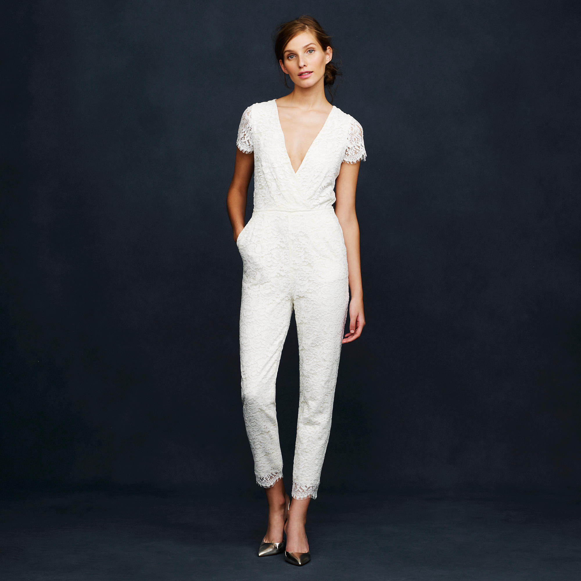 The best bridal jumpsuits for alternative wedding inspiration - Jumpsuit hochzeit ...