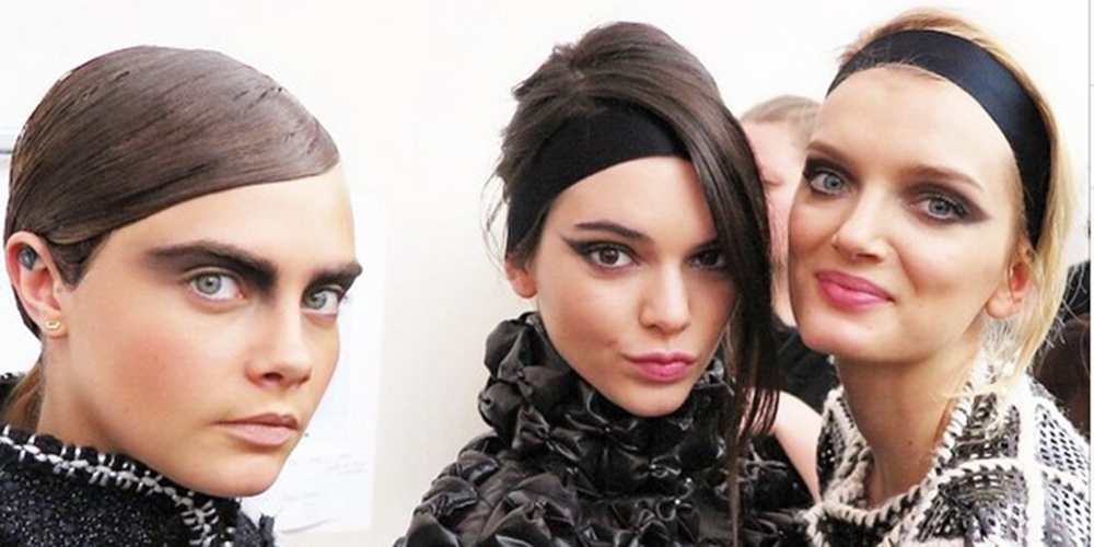 autumn winter 2015 hair and makeup trends