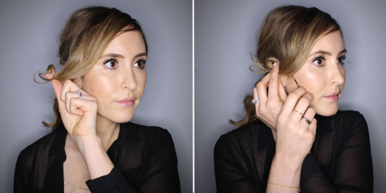 Hair tutorial: how to do 70s waves with faux fringe