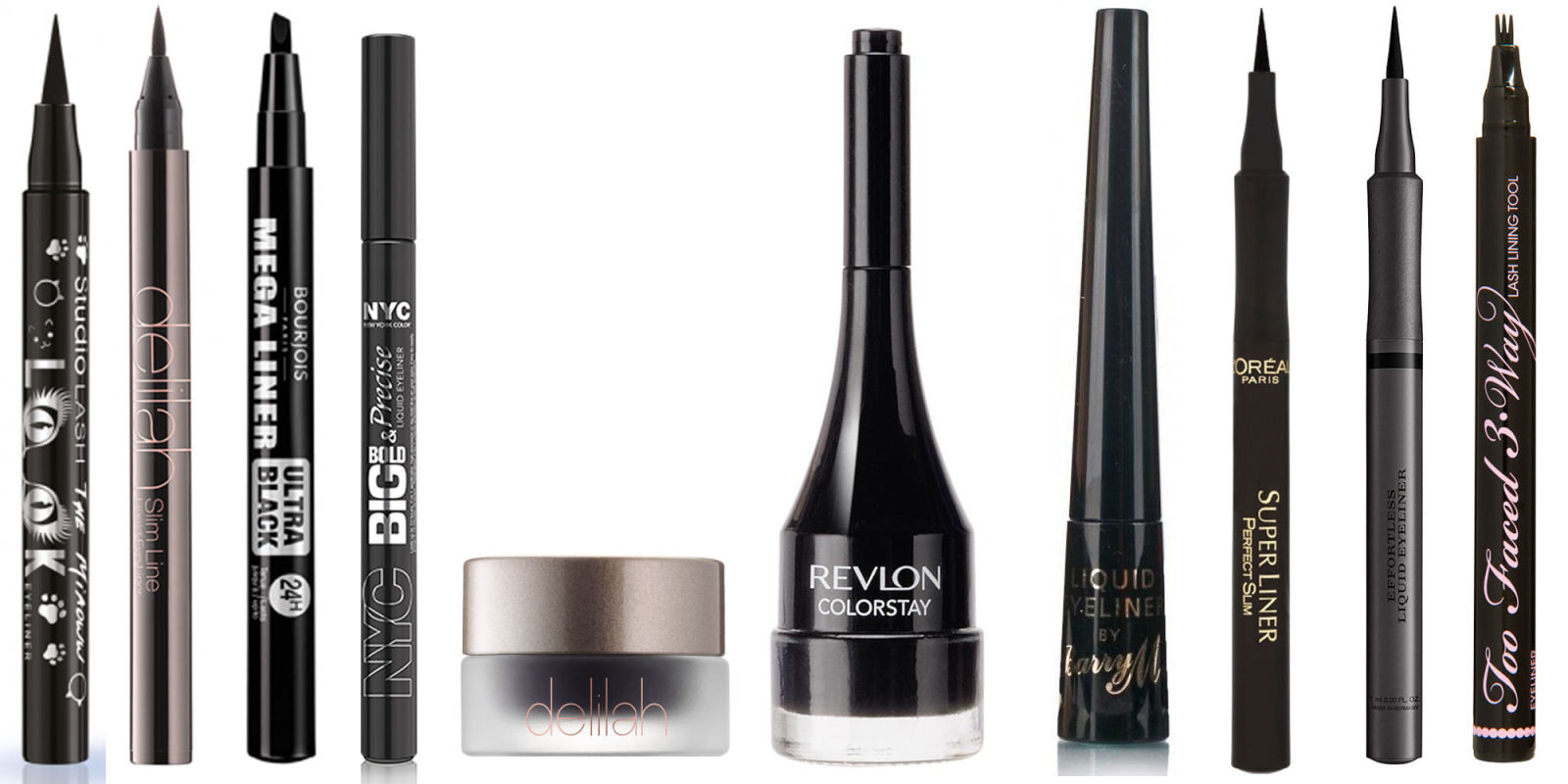 Best Liquid and Gel Eyeliner