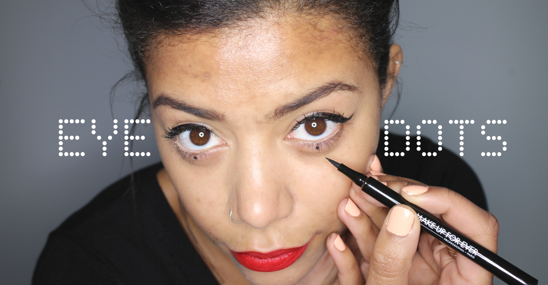 Makeup Trend How To Do Eye Dots