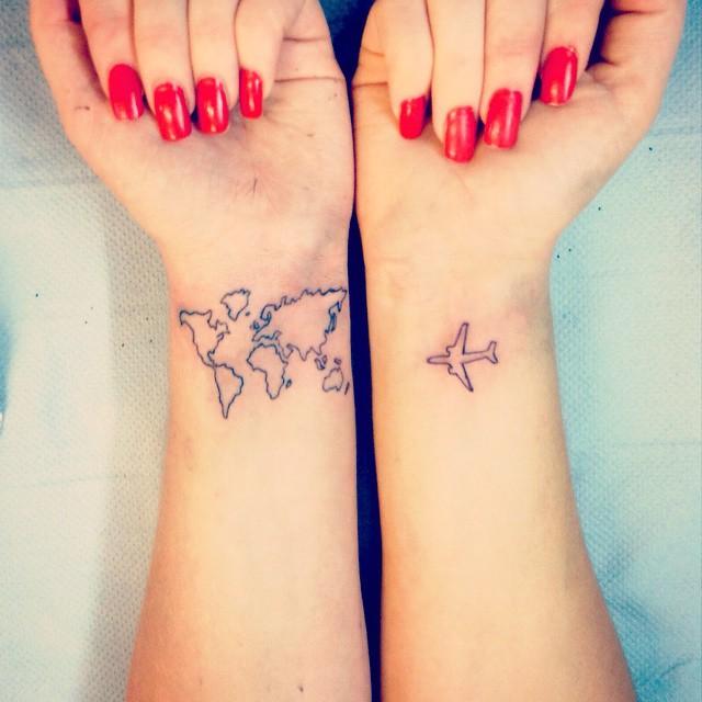 Travel Tattoo Inspiration Ideas
