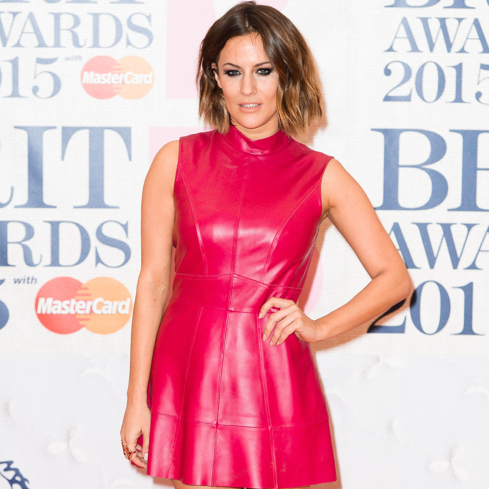 Caroline Flack Looks Like A Different Person With Platinum