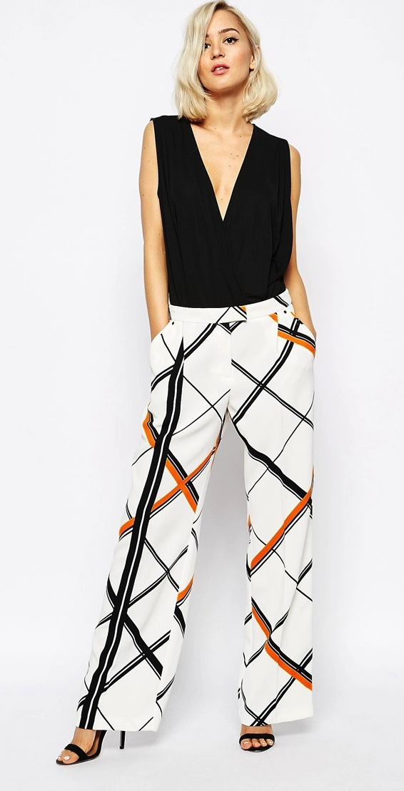 How to wear wide-leg trousers if you're petite