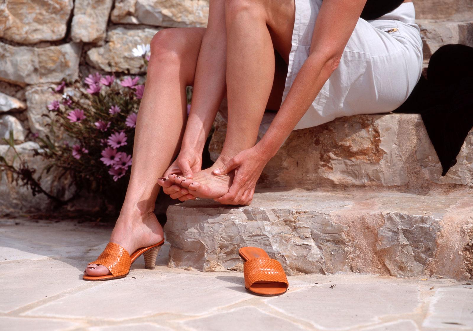 Stop New Shoes Rubbing Heels