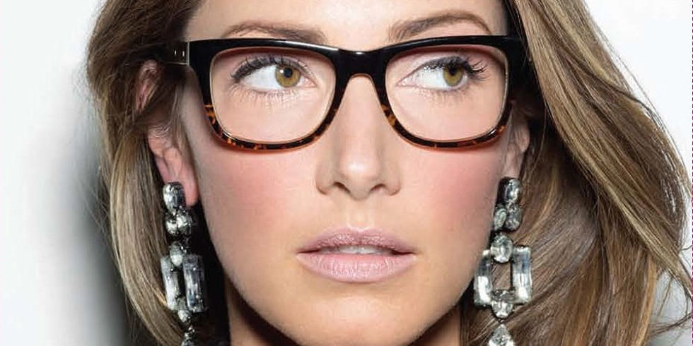 how to make yourself look pretty with glasses