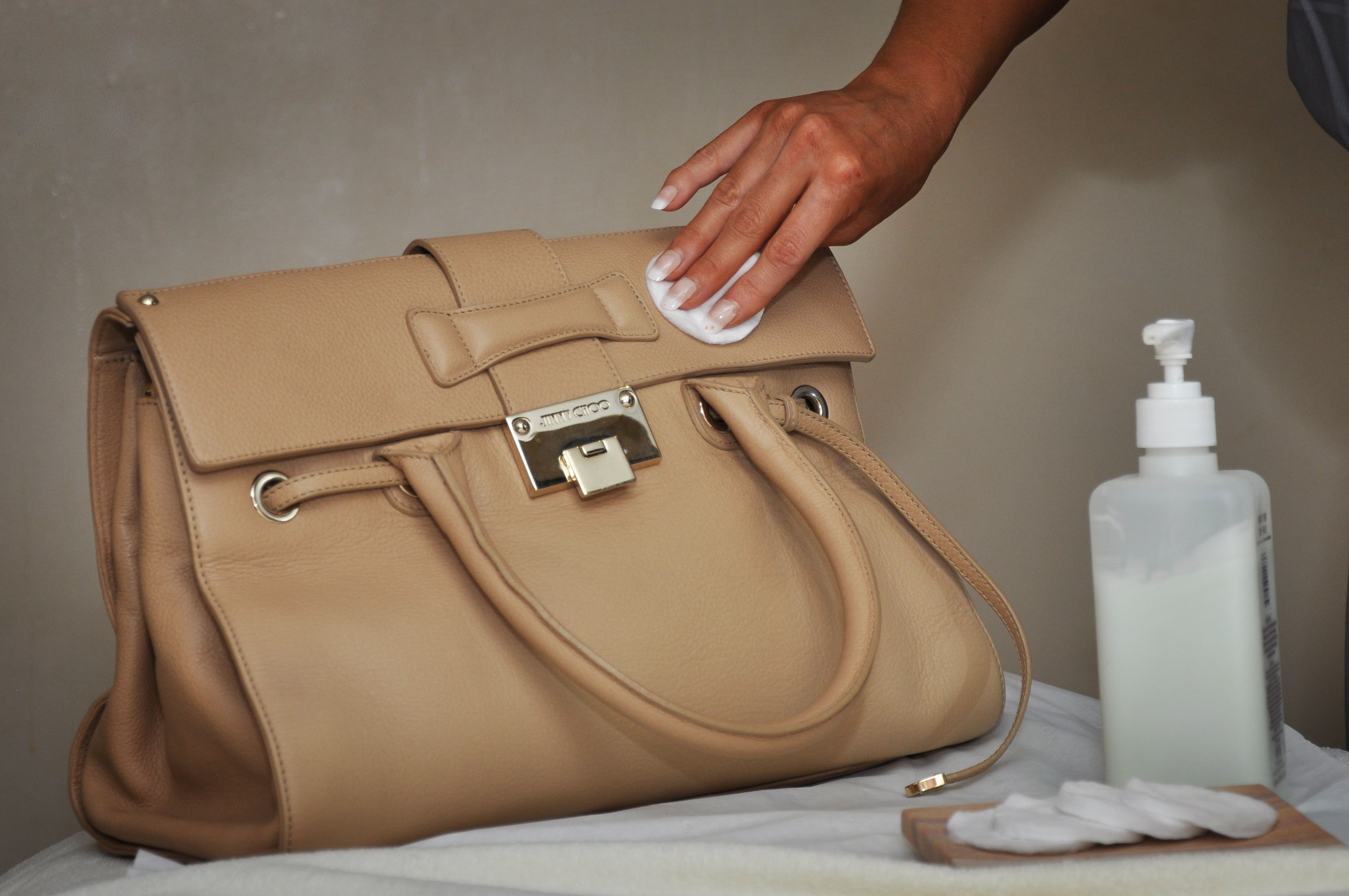 How to clean your designer leather handbag