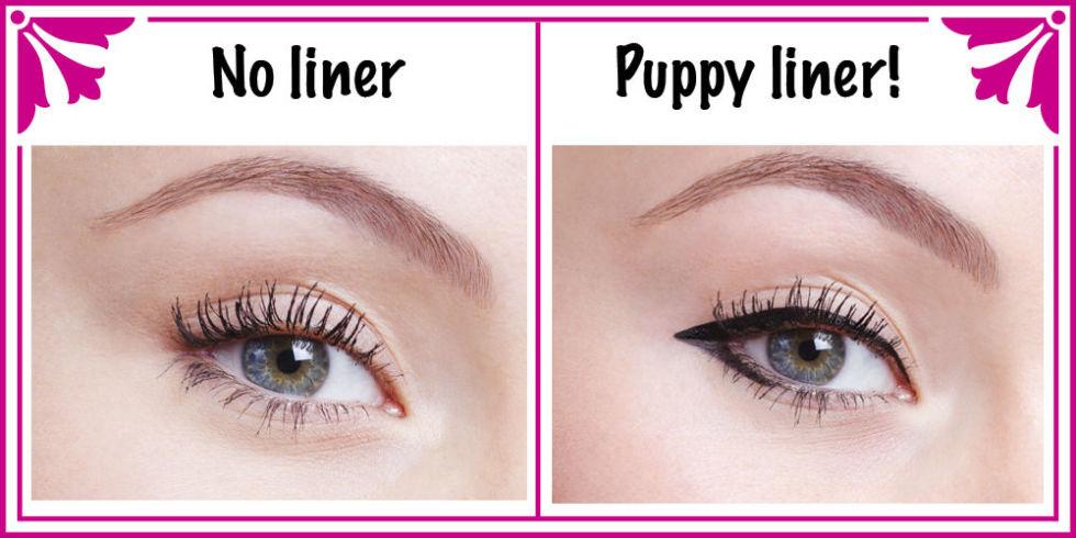 Puppy Dog Eyeliner Tutorial