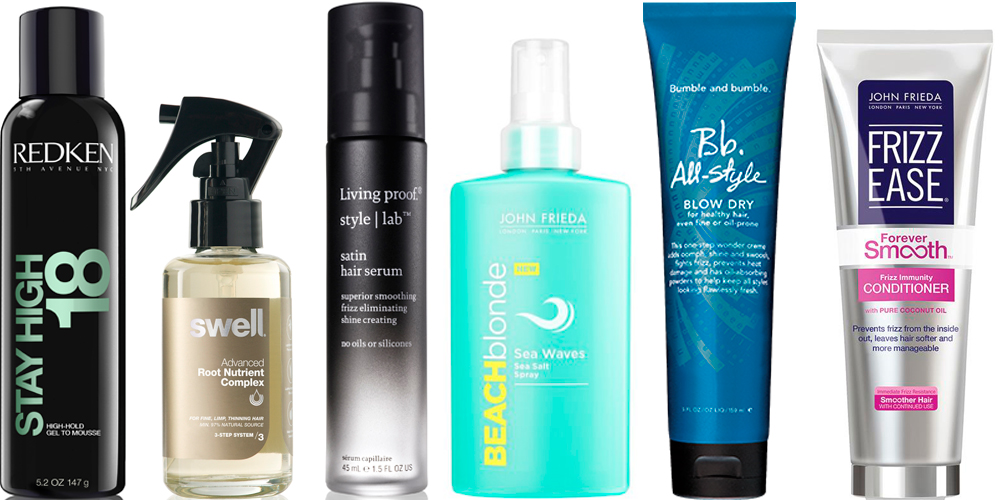 The Best Hair Styling Products