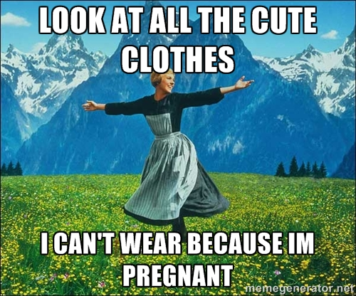 Image result for maternity clothes meme