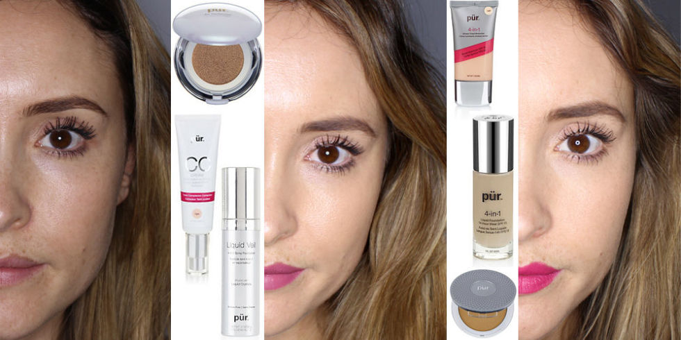 6 of the best new foundations tried out with picture reviews for Different foundations