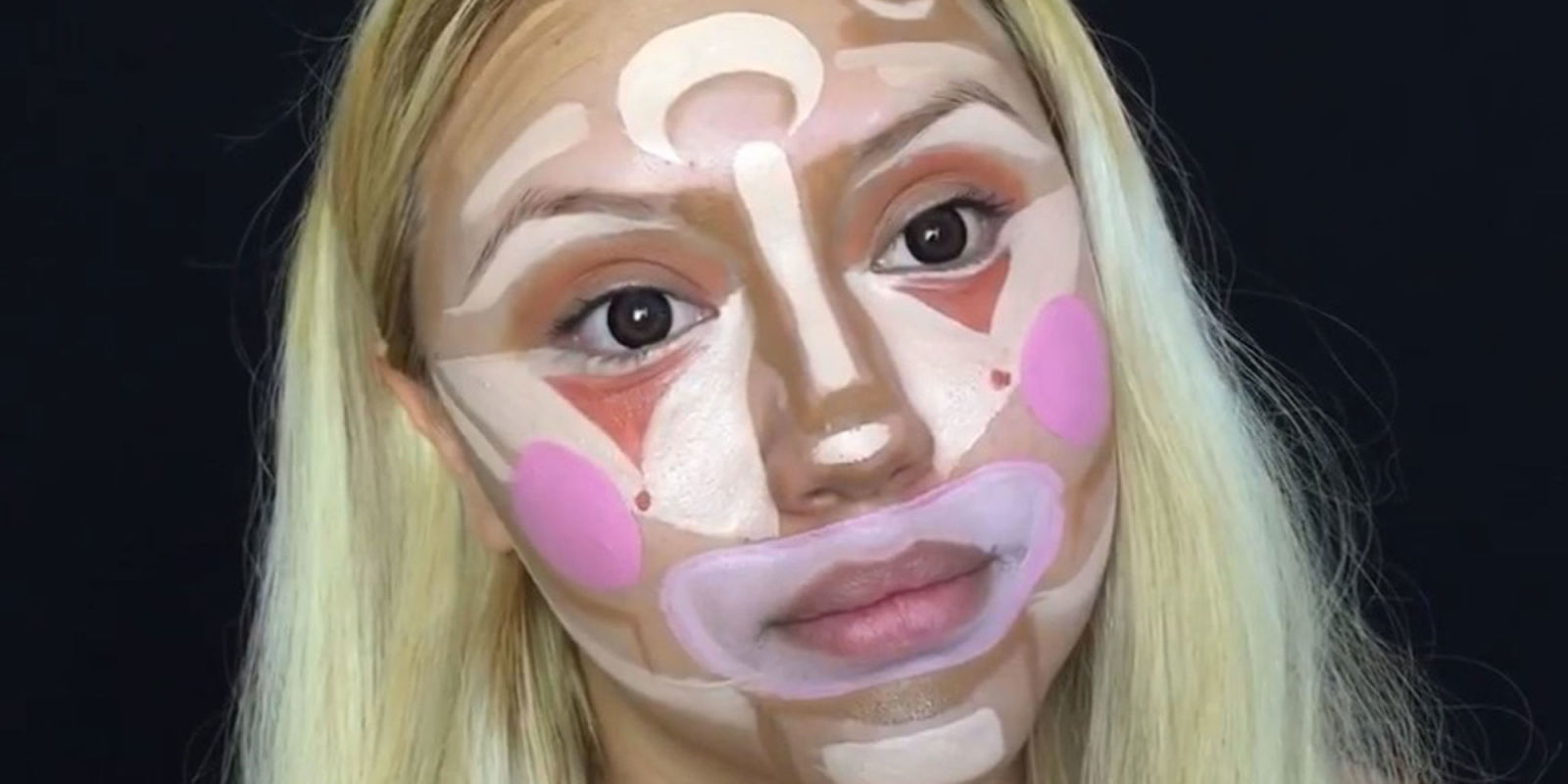 WTF is clown contouring?