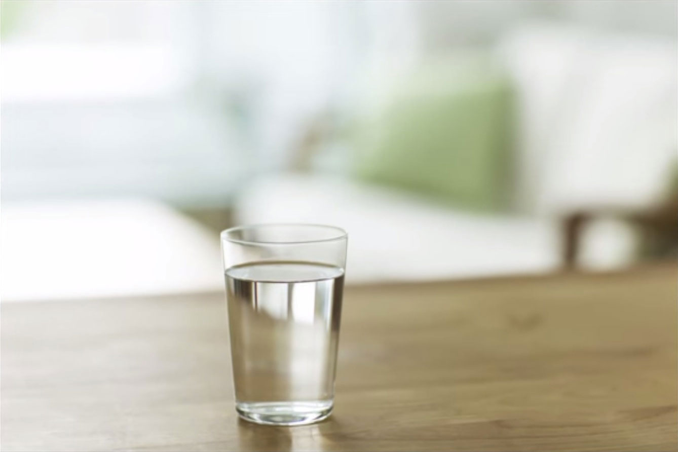 This is what REALLY happens to that glass of water you ...