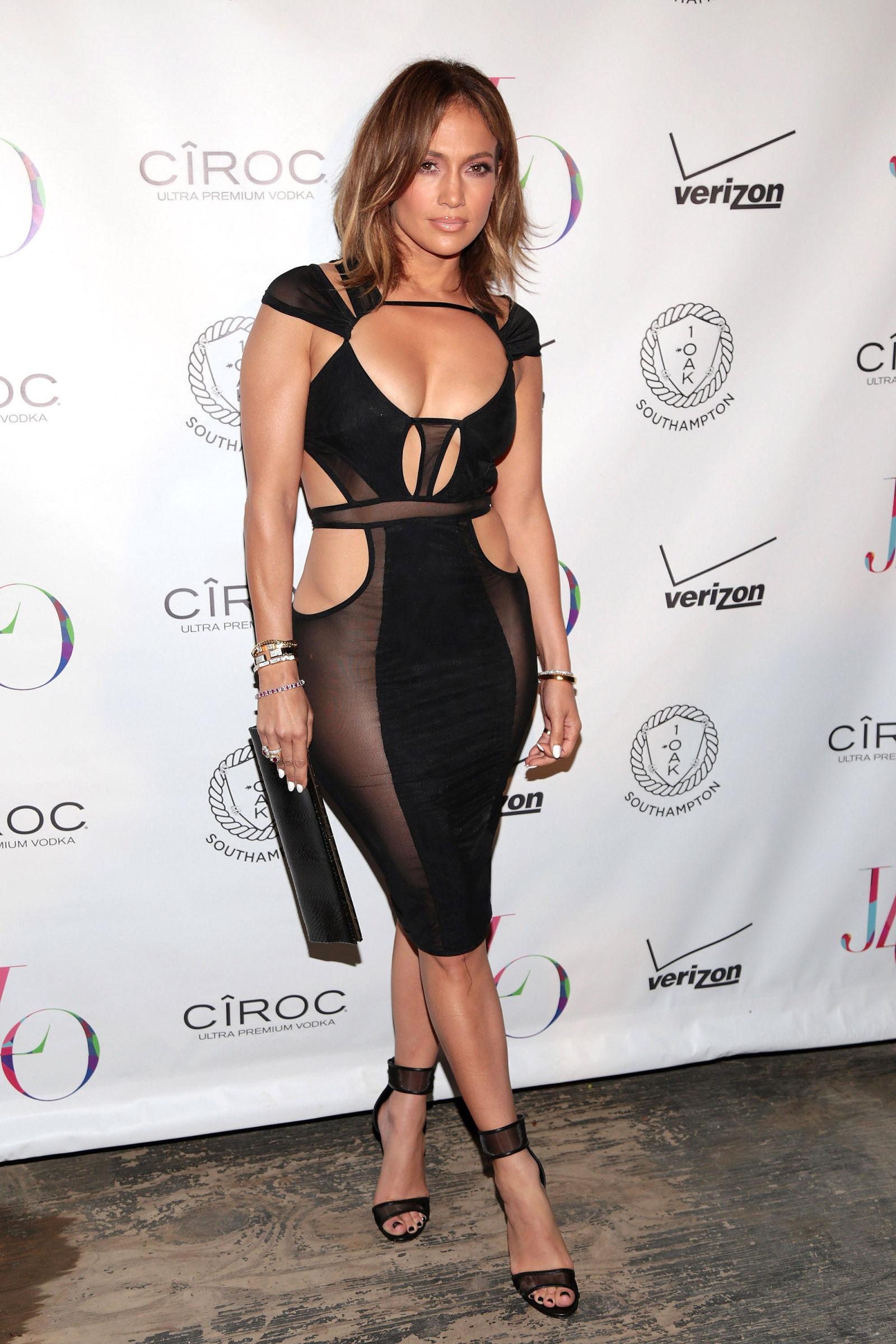 15 of Jennifer Lopezs Best Naked Dresses   Allure