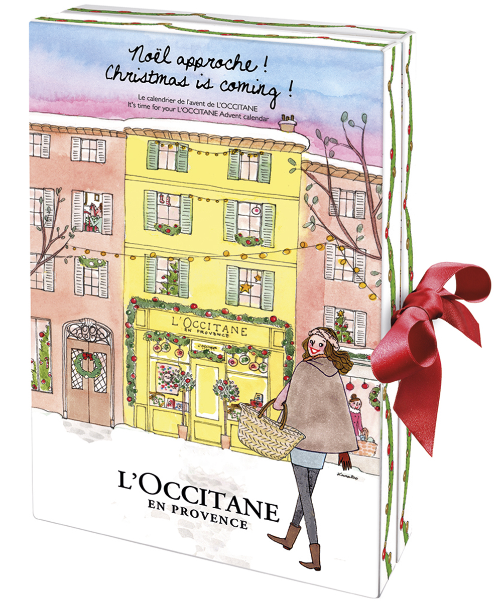 The best beauty advent calendars for 2015 - L'Occitane