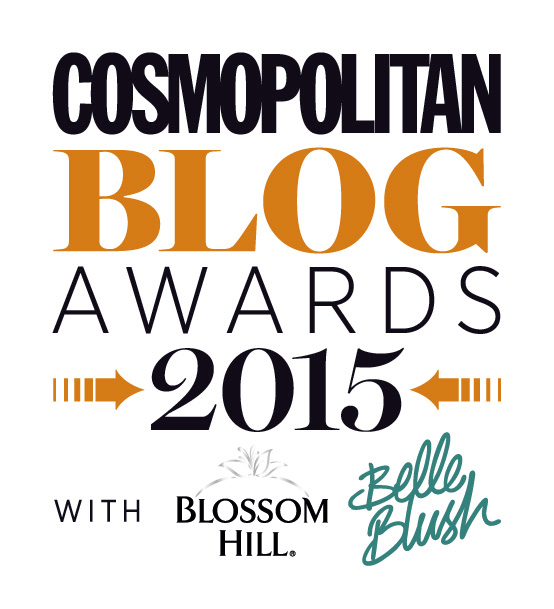 cosmo blog awards 2015 logo