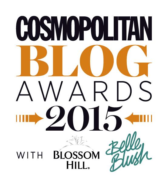 cosmo blog awards 2015 logo