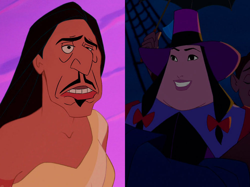 These Disney Hero And Villain Face Swaps Are So Brilliant